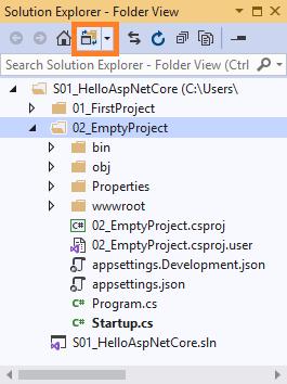 chế độ hiển thị file/folder
